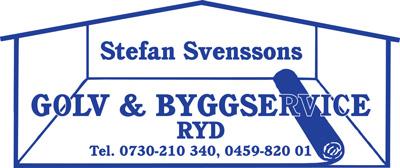 Stefan Svensson Golv & Byggservice Logotyp